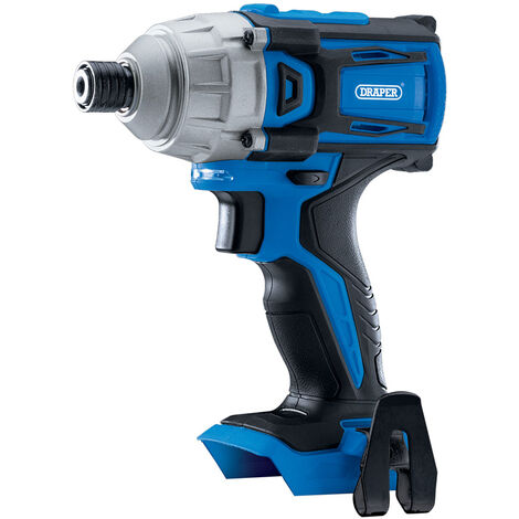 "D20 20V Brushless 1/4"" Impact Driver - Bare (180Nm)"
