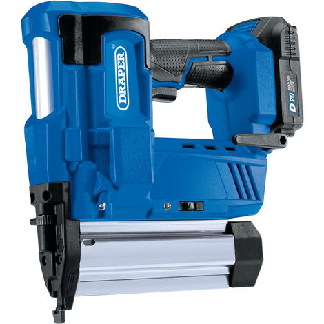 D20 20V Nailer/Staplier with 2Ah Battery and Charger