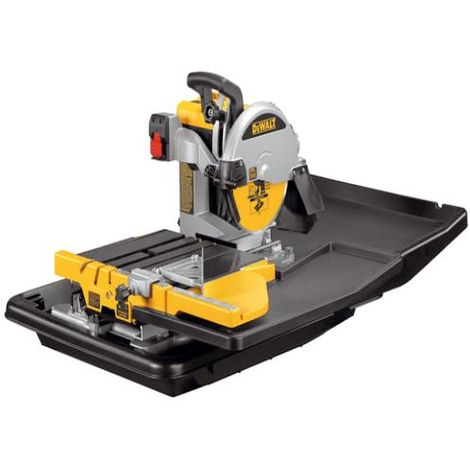 D24000 Wet Tile Saw with Slide Table 230 Volt