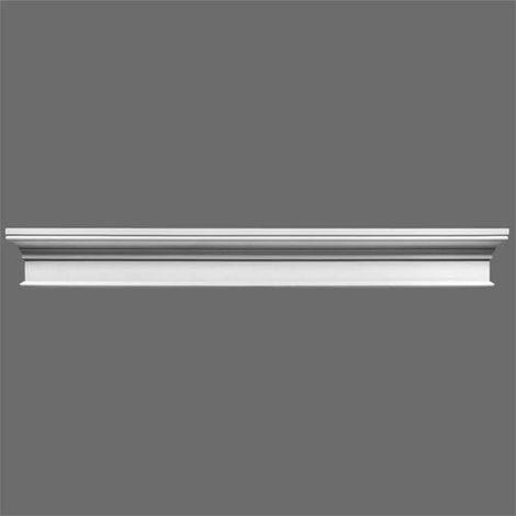 "main image of ""D400 Single Door Doric Pediment"""