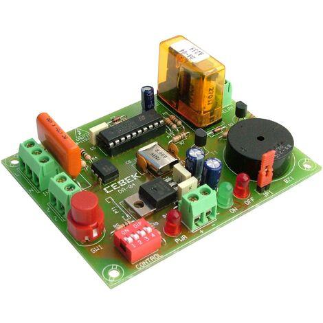 DA-04 Control acceso timbre inteligente 12V Cebek