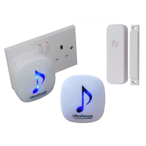 DA-600 Wireless Door Contact Chime with 2 x Receivers (300 metres) [004-4660]