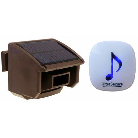 DA600 Brown PIR Wireless Garden & Driveway Alarm [004-4830]