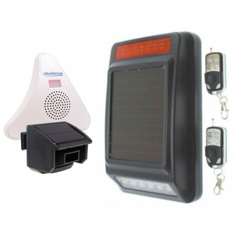 DA600-T Wireless Garden & Driveway Alarm with Solar Siren [004-5080]