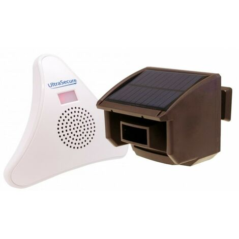 DA600-T Wireless Garden & Driveway Alert (Brown PIR). [004-4840]