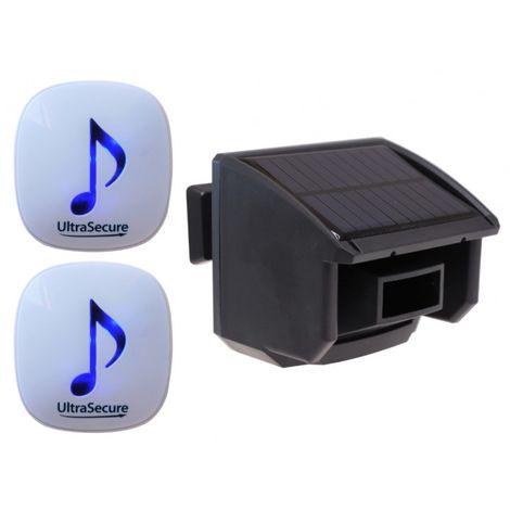 DA600 Wireless Garden & Driveway Alarm with 2 x Receivers & 1 x PIR [004-4600]
