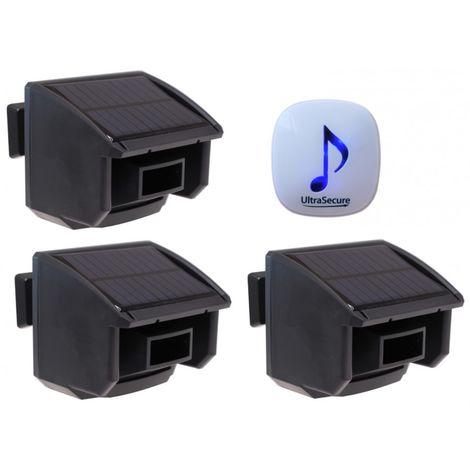 DA600 Wireless Garden & Driveway Alarm with 3 x PIR's [004-4560]