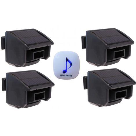 DA600 Wireless Garden & Driveway Alarm with 4 x PIR's [004-4580]