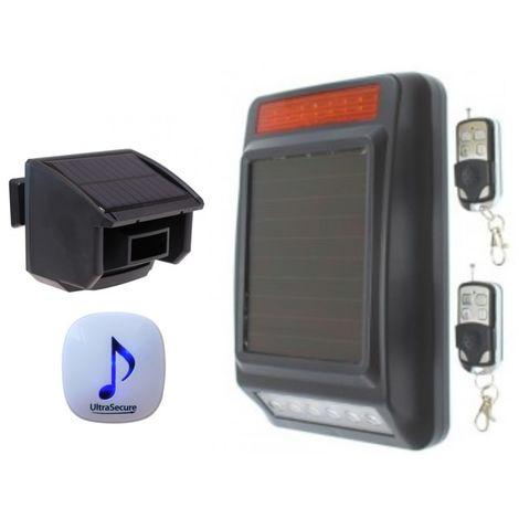 DA600 Wireless Garden & Driveway Alarm with Solar Siren [004-4680]
