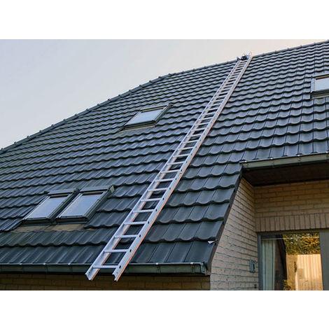 Dachdeckerleiter mit Holzprofilen (in verschiedenen Größen erhältlich)