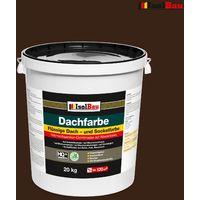Dachfarbe Sockelfarbe Braun 20 kg flüssige Polymermembran Markenware