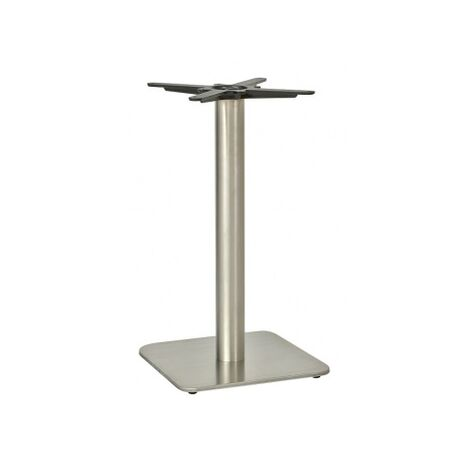 Dacon Square Dining Table Base - Stainless Steel
