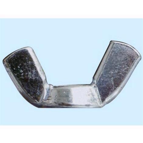 100 pz Misura 10 mm Conf Dadi esagonali ciechi in ferro zincato