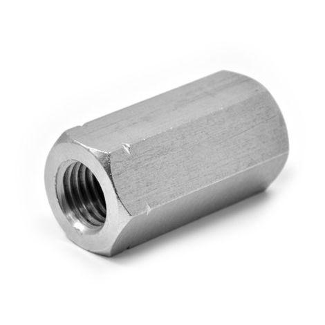 cf 4 pz manicotto manicotti esagonale acciaio zincato M6x30 mm giunzione barra