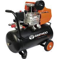 Daewoo DAAC24D - Compresor de aire 2 HP, 220 V, 24 L