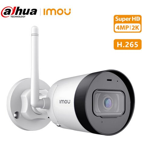 Dahua 4 Millions 1080P Ultra Hd Camera Wifi Sans Fil Exterieure Ip67 Support Etanche Vision Nocturne Microphone Integre