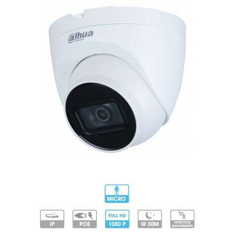 Dahua mini caméra dôme 2MP IP POE