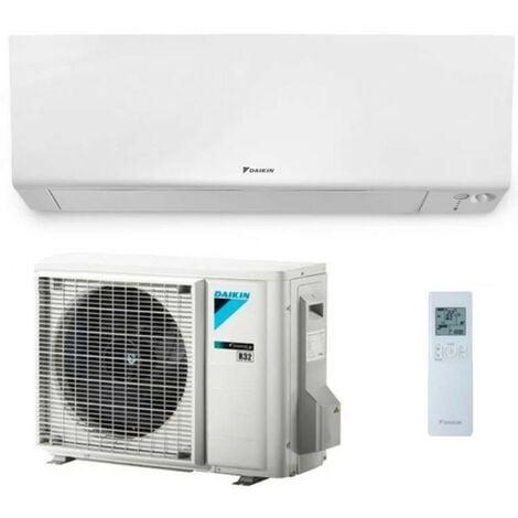 Daikin Perfera Wall climatiseur monosplit mural 12000 btu composé d'unités extérieures et intérieures gaz R32 wifi inclus | Blanc - Standard