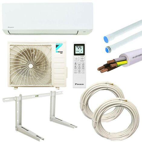 Daikin Sensira 12000btu 3,5KW R32 A++/A+ FTXCB+RXCB climatiseur avec kit d'installation