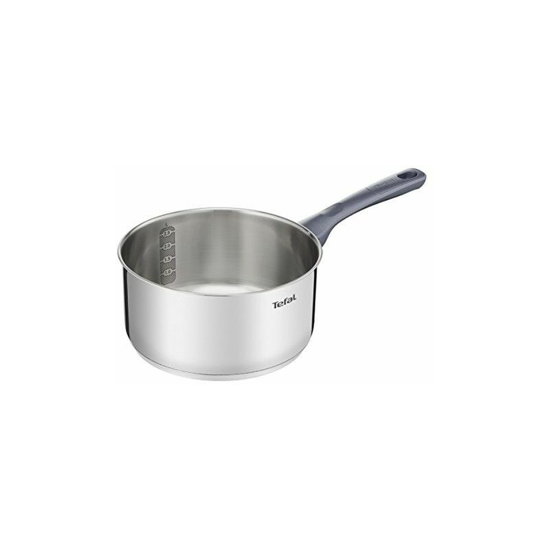 DAILYCOOK Casserole 18 cm Inox Tous Feux Dont Induction