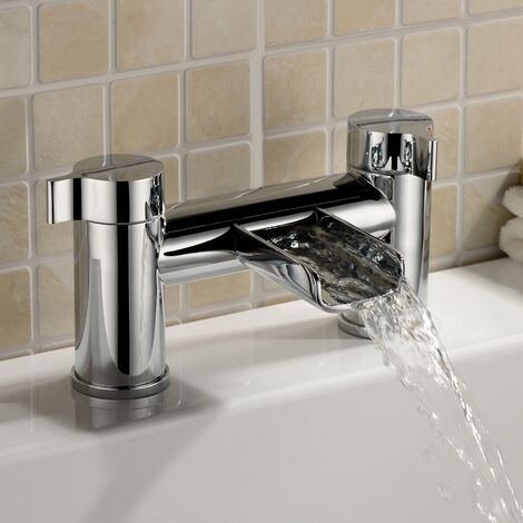 Daina Bathroom Bath Filler Waterfall Tap
