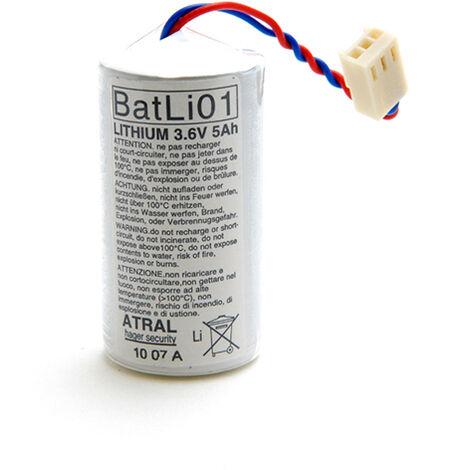 Daitem - Pile alarme DAITEM BATLI01 3.6V 5Ah