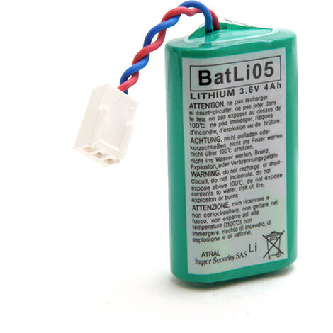 Daitem - Pile alarme DAITEM BATLI05 3.6V 4Ah