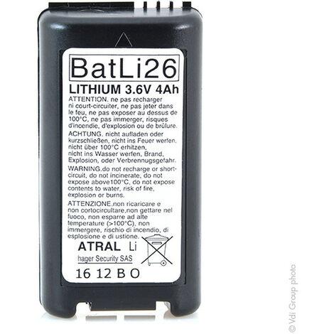 Daitem - Pile alarme DAITEM BATLI26 3.6V 4Ah