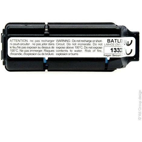 Daitem - Pile alarme DAITEM BATLI38 3V 2.4Ah