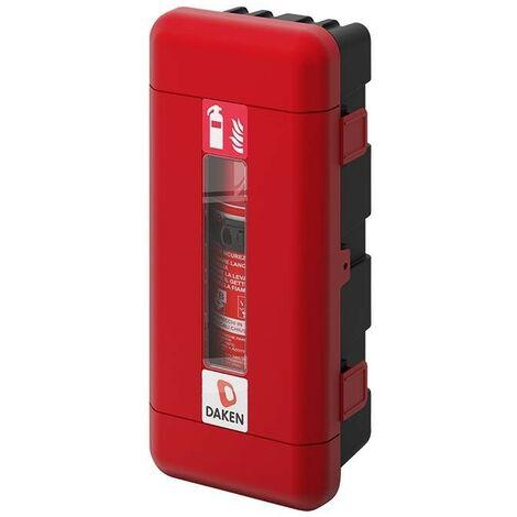 Daken® Coffre d'extincteurs Ø170-190mm rouge/noir