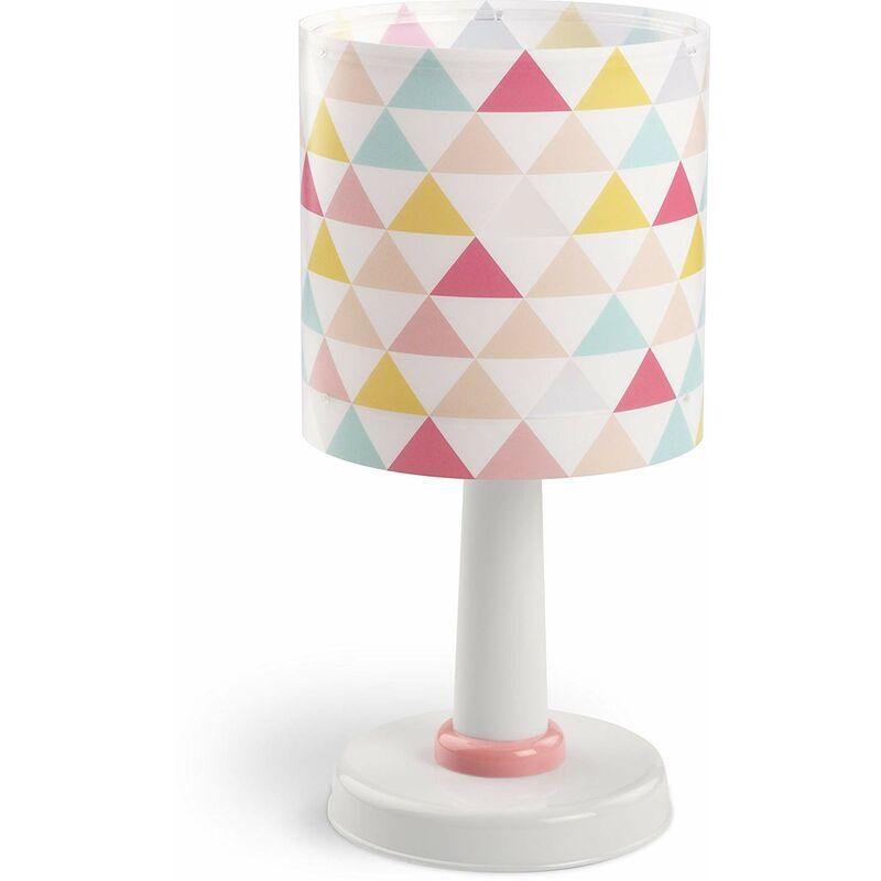 Joyeux Lampe de Chevet Triangules de couleurs - Dalber