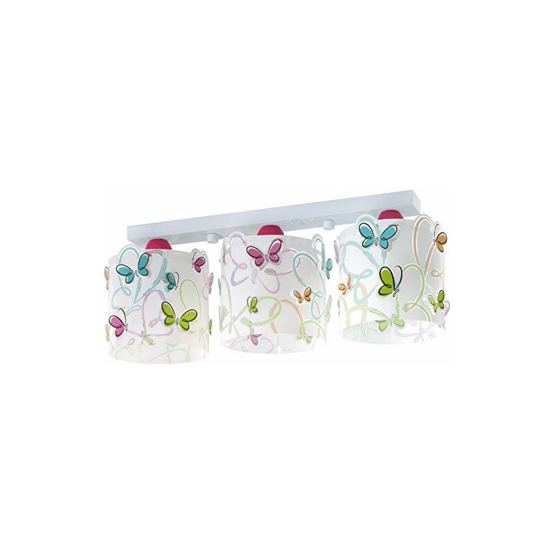 Rampe 3 Lampes Collection ``Butterfly`` - Dalber