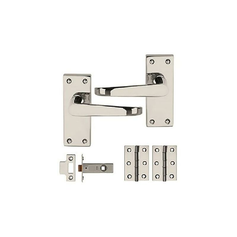 Image of Dale PCP Victorian Flat Internal Door Pack x 3 - Contract Box Multi Pack