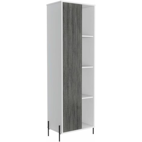 Dale tall storage & display cabinet