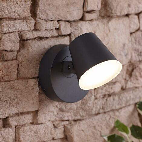 Dalen Luz LED Giratoria 12.5W Exterior Clasificación Energy A++ - Gris