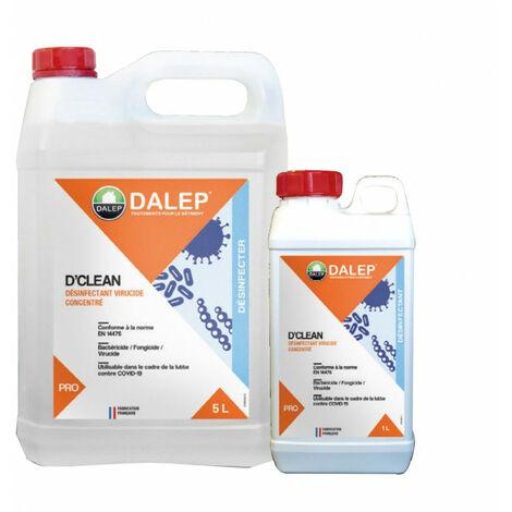 DALEP D'Clean Désinfectant virucide concentré 5L