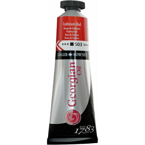 Daler-Rowney 111014503 Georgian Oil 38ml Cad Red