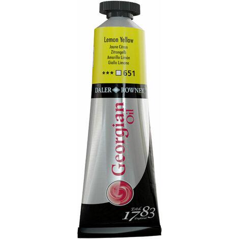 Daler-Rowney 111014651 Georgian Oil 38ml Lemon Yellow