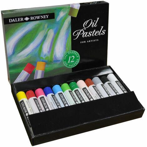 Daler-Rowney Artists Oil Pastel Set 12