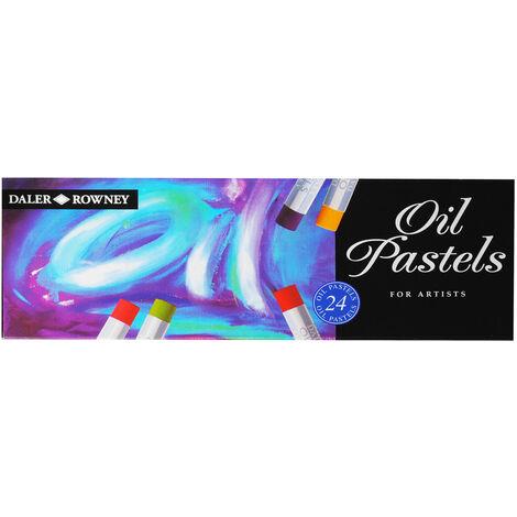 Daler-Rowney Artists Oil Pastel Set 24
