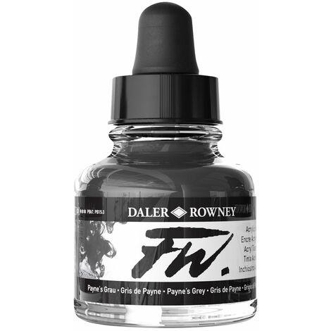 Daler-Rowney FW Artists Acrylic Ink 29.5ml Paynes Grey