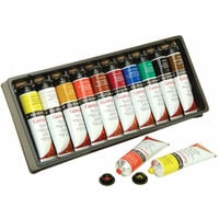 Daler Rowney Georgian Oil Colours Selection Assorted Set (10 x 38ml Tubes)