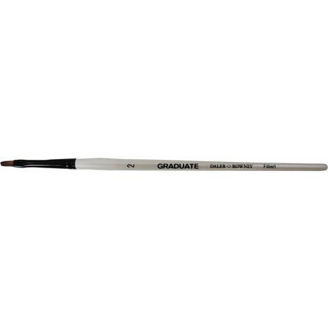 Daler Rowney Graduate Filbert Short Handled Brush Size 2