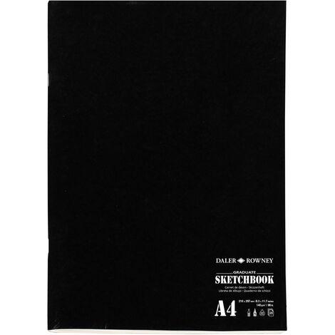 "main image of ""Daler-Rowney Graduate Stapled Matt Soft Cover Sketch Book A4 140G 20Sh"""
