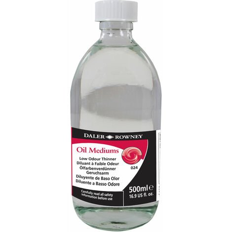 Daler Rowney Low Odour Thinner 500ml