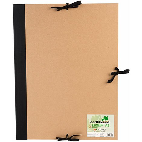 Daler Rowney Recycled Earthbound Portfolio with Flaps A3