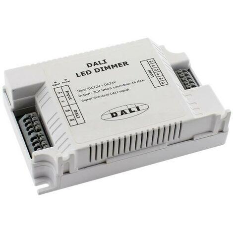 DALI Controlador RGB, 3CH, DC12-24V