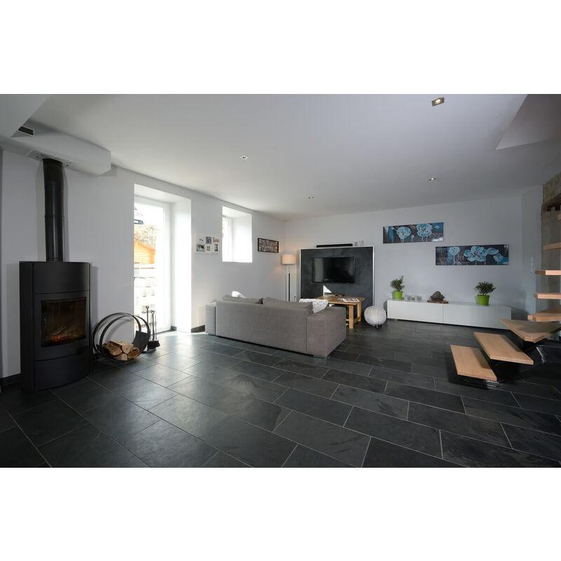 Dallage Ardoise Noire 60x30cm - vendu par lot de 1.26 m²