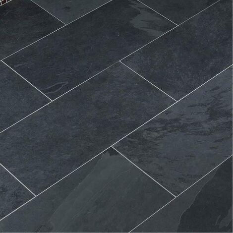 Dallage Ardoise Noire 60x30cm - vendu par lot de 1.26 m² - 172503
