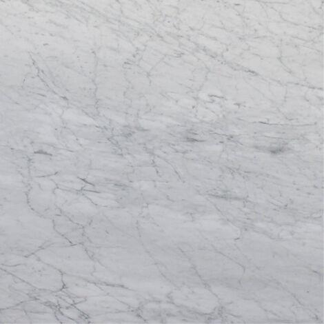 Dallage Marbre Blanc Odessa White 30,5x30,5 cm - vendu par lot de 0.93 m² - Blanc, Gris
